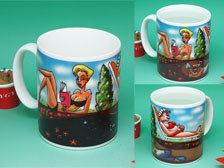 Funny joke mug,Color changing mug,gift mug  +86-20-34881686