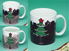 Christmas mug,Color changing mug,gift mug  +86-20-34881686