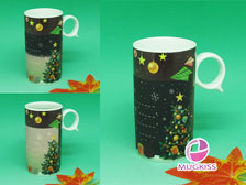 Greeting card mug CD10121W-X11781