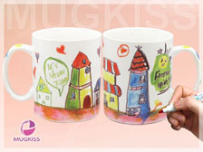 Drawing Mug EE11248W