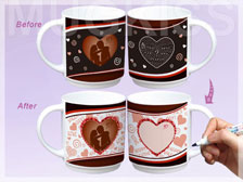 Greeting card mug ED1001-V11902