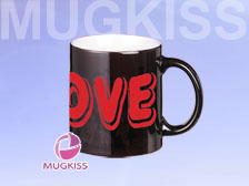 HMC1124W-F/B/LOVE Color changing mug,Coating mug  +86-20-34881686