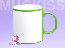 Sublimation mug factory HD11248G/W-Q