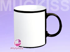 Sublimation mug copany HD11248B/W-Q