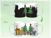 Music Color Changing - Christmas Mug