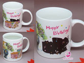 Music Color Changing - Birthday Mug